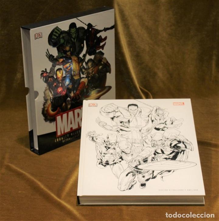 Tebeos: Marvel,Crónica visual definitiva. Versión actualizada y ampliada.2013 - Foto 2 - 219771440