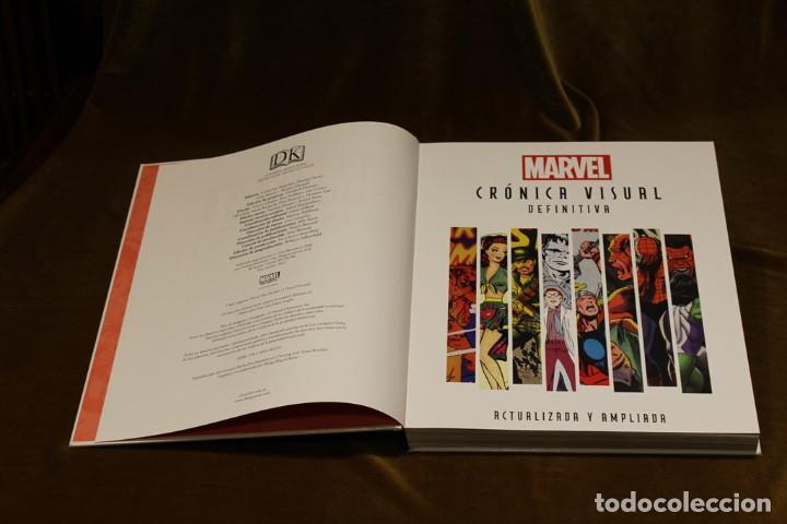 Tebeos: Marvel,Crónica visual definitiva. Versión actualizada y ampliada.2013 - Foto 3 - 219771440