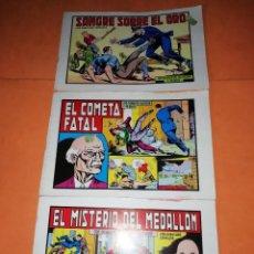 Tebeos: ROBERTO ALCAZAR Y PEDRIN.3 NUMEROS DOBLES 97,98 Y 99. EDITORIAL VALENCIANA 1983.. Lote 220192891