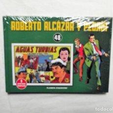 Livros de Banda Desenhada: TOMO ROBERTO ALCAZAR Y PEDRIN TOMO Nº 48 ( PRECINTADO ) 9 AVENTURAS COMPLETAS PLANETA D´AGOSTINI. Lote 220878416