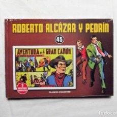 Livros de Banda Desenhada: TOMO ROBERTO ALCAZAR Y PEDRIN TOMO Nº 45 ( PRECINTADO ) 9 AVENTURAS COMPLETAS PLANETA D´AGOSTINI. Lote 220879428