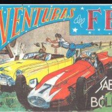 Tebeos: AVENTURAS DEL F.B.I. Nº 146: SABOTAJE EN LOS BÓLIDOS. Lote 220985830