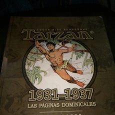 Tebeos: TARZAN 1931-1937 LAS PÁGINAS DOMINICALES HAL FOSTER NUEVO PRECINTADO YERMO ED.. Lote 221656772