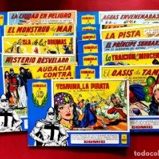 Tebeos: 29 TOMOS-EL GUERRERO DEL ANTIFAZ / TOMOS AZULES -VER NUMERACIÓN. Lote 221673473