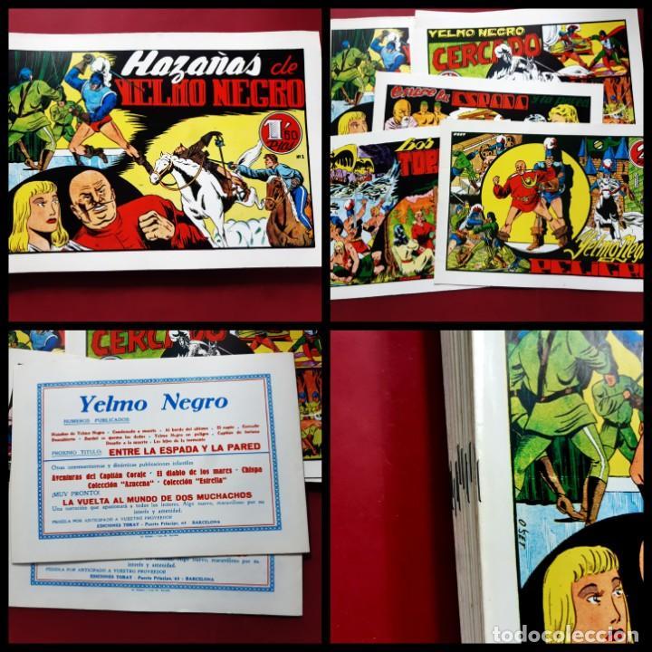 YELMO NEGRO COLECCION COMPLETA 14 EJEMPLARES -IMPECABLE ESTADO (Tebeos y Comics - Tebeos Reediciones)