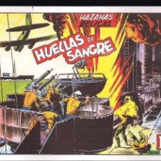 Tebeos: HAZAÑAS BELICAS Nº 13: HUELLAS DE SANGRE. Lote 222050015