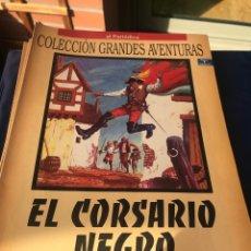 Tebeos: EL CORSARIO NEGRO. EMILIO SALGARI. Lote 222226242