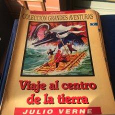 Tebeos: VIAJE AL CENTRO DE LA TIERRA JULIO VERNE. Lote 222226406