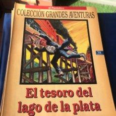 Tebeos: EL TESORO DEL LAGO DE LA PLATA KARL MAY. Lote 222227200