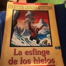 Tebeos: LA ESFINGE DE LOS HIELOS JULIO VERNE. Lote 222227646
