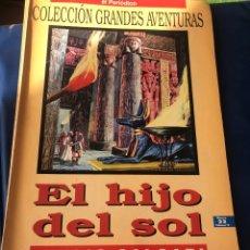Tebeos: EL HIJO DEL SOL. EMILIO SALGARI. Lote 222228086