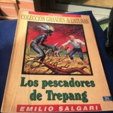 Tebeos: LOS PESCADORES DE TREPANG EMILIO SALGARI. Lote 222228281