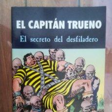 Tebeos: EL CAPITÁN TRUENO. EL SECRETO DEL DESFILADERO. Lote 222616882