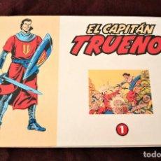 """Tebeos: EL CAPITAN TRUENO TOMO 1 REEDICIÓN DE """"EL PERIODICO"""", ENCUADERNADO. Lote 222983912"""