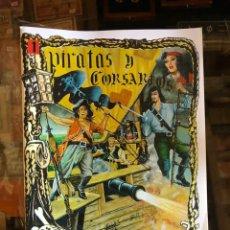 Tebeos: PIRATAS Y CORSARIOS: HEROES DE PAPEL - COMPLETA 12 VOLUMENES- IMPECABLES!. Lote 226461975