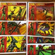 Tebeos: LEYENDAS GRAFICAS MAGA: EL ACROBATA TERREMOTO - 7 VOLUMENES - REEDICIÓN. Lote 226473280