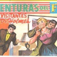 Tebeos: AVENTURAS DEL F.B.I. Nº 241: LOS VISITANTES DEL DR. HOLMES. Lote 228022726