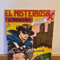 Tebeos: EL MISTERIOSO X EN ESTRATEGEMAS NÚMERO 4. Lote 228365350