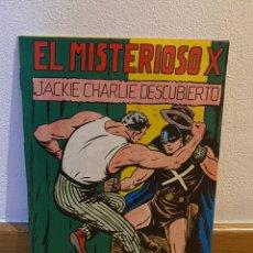 Tebeos: EL MISTERIOSO X JACKIE CHARLIE DESCUBIERTO NÚMERO 13. Lote 228365410
