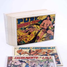 Tebeos: PURK, EL HOMBRE DE PIEDRA TOMOS 1 A 12. NÚMEROS 1 A 96. FACSIMIL (MANUEL GAGO) JLA, 1986. OFRT. Lote 295861668