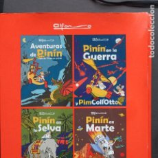 Tebeos: AVENTURES DE PINÍN, ALFONSO IGLESIAS - CARPETA CON CUATRO LIBROS, 2004. Lote 230976625