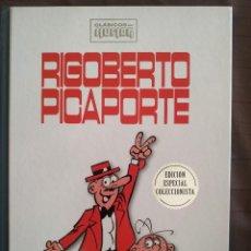 Livros de Banda Desenhada: RIGOBERTO PICAPORTE - SEGURA /CLÁSICOS DEL HUMOR - EDICIÓN COLECCIONISTA. Lote 231812600