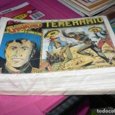 Livros de Banda Desenhada: COLECCION COMPLETA DEL CHARRO TEMERARIO. Lote 234020425
