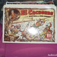 Tebeos: COLECCION COMPLETA DE EL CACHORRO EN TOMITOS. Lote 273645568