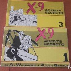 Tebeos: X-9 AGENTE SECRETO IMPALA LOTE 2 TOMITOS.. Lote 235460330