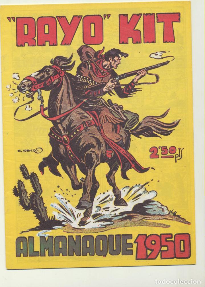 RAYO KIT ALMANAQUE 1950. REEDICIÓN (Tebeos y Comics - Tebeos Reediciones)