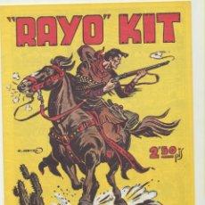 Tebeos: RAYO KIT ALMANAQUE 1950. REEDICIÓN. Lote 236493625