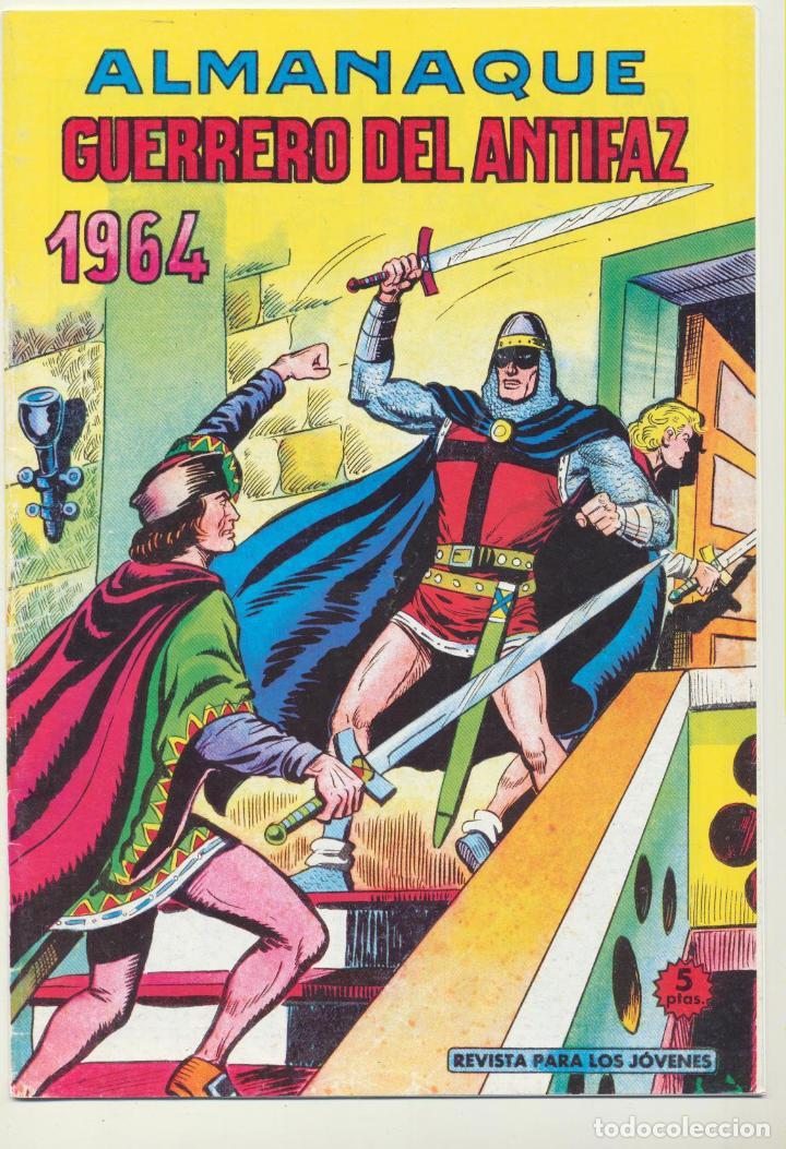 EL GUERRERO DEL ANTIFAZ. ALMANAQUE 1964. REEDICIÓN (Tebeos y Comics - Tebeos Reediciones)