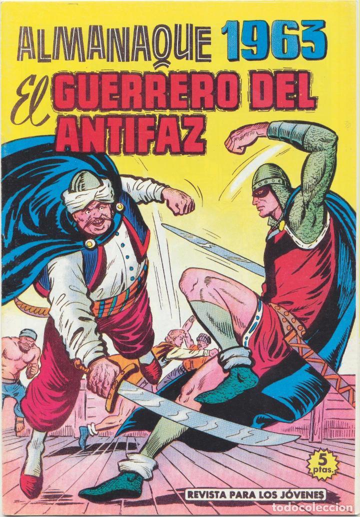 EL GUERRERO DEL ANTIFAZ. ALMANAQUE 1963. REEDICIÓN (Tebeos y Comics - Tebeos Reediciones)