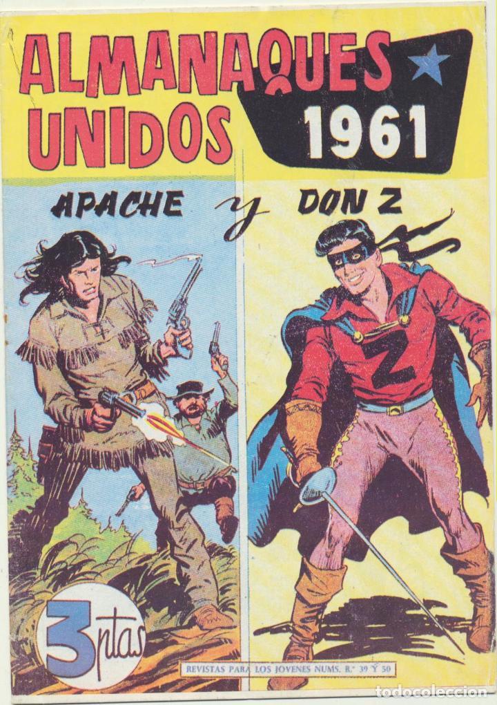 ALMANAQUES UNIDOS 1961. APACHE Y DON Z. REEDICIÓN (Tebeos y Comics - Tebeos Reediciones)