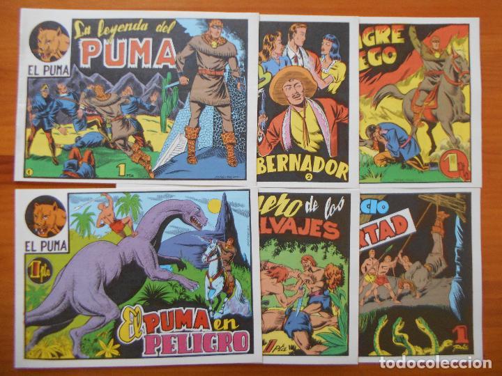 Tebeos: EL PUMA - 1ª SERIE - COMPLETA - 60 NUMEROS - FACSIMIL REEDICION (FW) - Foto 2 - 236548700