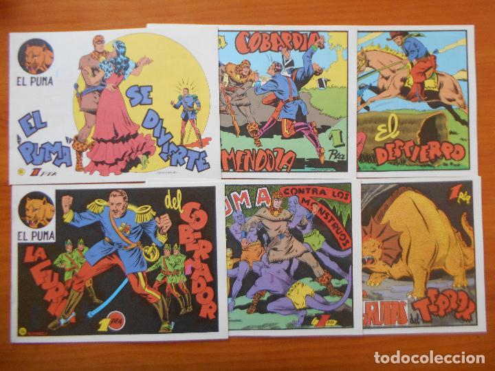 Tebeos: EL PUMA - 1ª SERIE - COMPLETA - 60 NUMEROS - FACSIMIL REEDICION (FW) - Foto 4 - 236548700