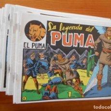 Tebeos: EL PUMA - 1ª SERIE - COMPLETA - 60 NUMEROS - FACSIMIL REEDICION (FW). Lote 236548700