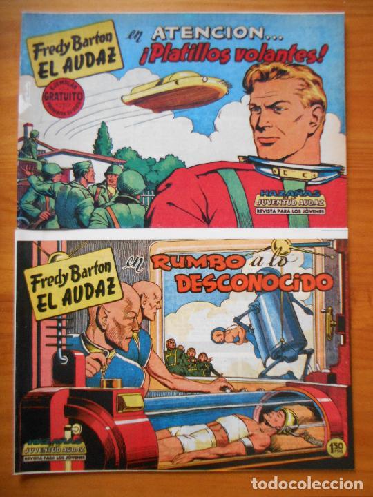 Tebeos: FREDY BARTON EL AUDAZ - COMPLETA - 16 NUMEROS - FACSIMIL REEDICION (FW) - Foto 2 - 236552985
