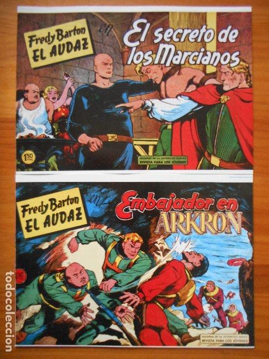Tebeos: FREDY BARTON EL AUDAZ - COMPLETA - 16 NUMEROS - FACSIMIL REEDICION (FW) - Foto 6 - 236552985