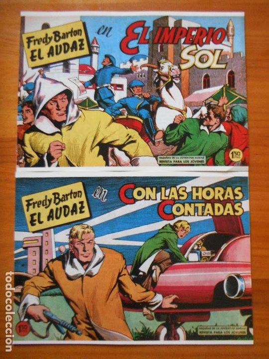 Tebeos: FREDY BARTON EL AUDAZ - COMPLETA - 16 NUMEROS - FACSIMIL REEDICION (FW) - Foto 7 - 236552985