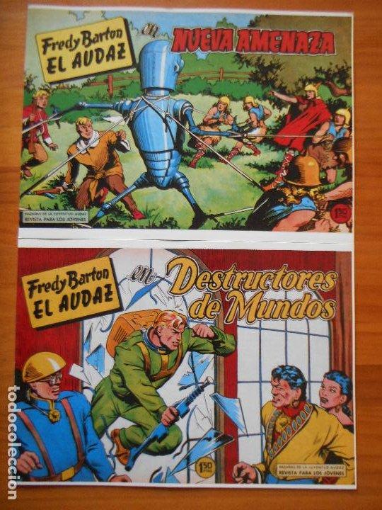 Tebeos: FREDY BARTON EL AUDAZ - COMPLETA - 16 NUMEROS - FACSIMIL REEDICION (FW) - Foto 8 - 236552985