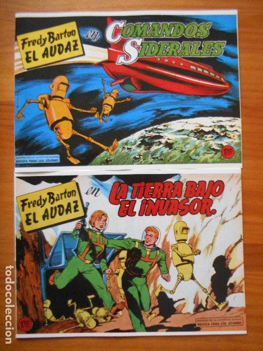 Tebeos: FREDY BARTON EL AUDAZ - COMPLETA - 16 NUMEROS - FACSIMIL REEDICION (FW) - Foto 9 - 236552985