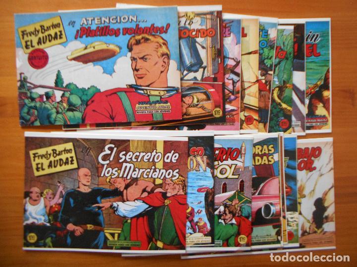 FREDY BARTON EL AUDAZ - COMPLETA - 16 NUMEROS - FACSIMIL REEDICION (FW) (Tebeos y Comics - Tebeos Reediciones)