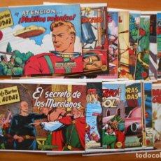 Tebeos: FREDY BARTON EL AUDAZ - COMPLETA - 16 NUMEROS - FACSIMIL REEDICION (FW). Lote 236552985