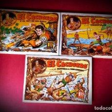 Tebeos: EL CACHORRO TOMOS Nº 1-2-3-IBERCOMIC EDICIONES 1985. Lote 236863885