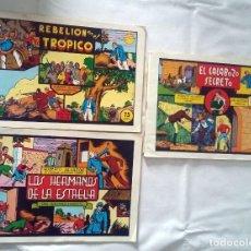 Tebeos: LOTE DE TRES COMICS ROBERTO ALCAZAR Y PEDRÍN.EDITORA VALENCIANA. Lote 238821960
