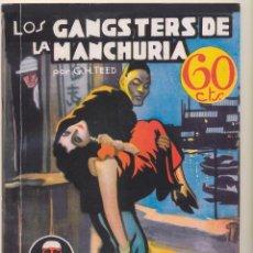 Giornalini: LA NOVELA AVENTURA N.º 33. LOS GANGSTERS DE LA MANCHURIA. SEXTON BLAKE. REEDICIÓN. Lote 239445130