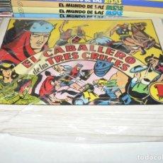 Livros de Banda Desenhada: COLECCION COMPLETA EL CABALLERO DE LAS TRES CRUCES. Lote 239717725