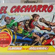 BDs: EL CACHORRO Nº 208 LUCHA EN EL ARSENAL (G. IRANZO) FACSIMIL 1983. Lote 241478665