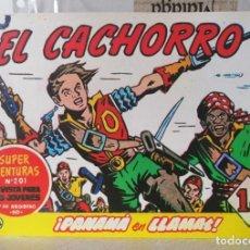 BDs: EL CACHORRO Nº 206 - PANAMÁ EN LLAMAS (G. IRANZO) FACSIMIL 1983. Lote 241479350